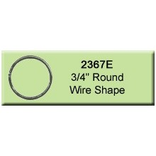 3/4 inch Round Wire Shape