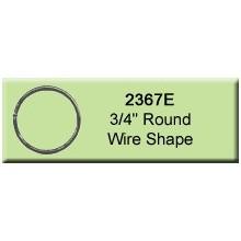 3/4 inch Round Wire Shape