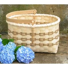 Special Quantity -- Market Basket with Swing Handle - Supplies for 5 Baskets