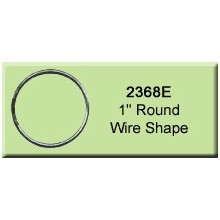 1 inch Round Wire Shape