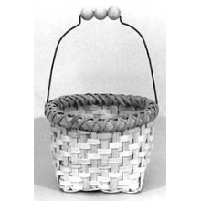 Special Quantity -- Japanese Berry Basket with Beaded Wire Handle - Supplies for 5 Baskets