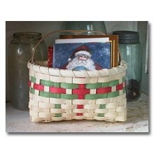 Special Quantity -- Holiday Card Basket - Supplies for 6 Baskets