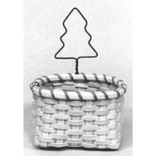 Special Quantity -- Tree Ornament Baskets - Supplies for 5 Baskets