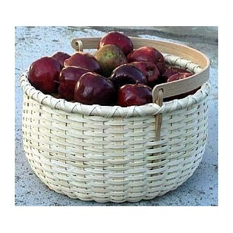 Special Quantity -- Apple Basket with Swing Handle - Supplies for 5 Baskets