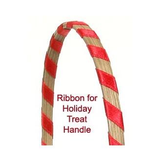 Ribbon for Holiday Treat Basket Handle