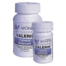 Valerin - 250 tablet size plus 90 Size FREE