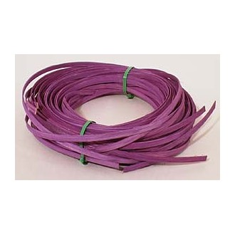 """.25 lb. - 1/4"""" Flat Violet DYED--1/4 lb. bundle"""