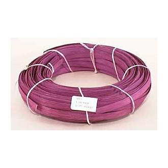 1 lb. - 1/2 inch Flat Violet DYED--1 lb. bundle