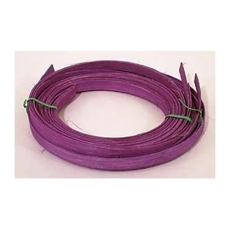 """.25 lb. - 1/2"""" Flat Violet DYED--1/4 lb. bundle"""