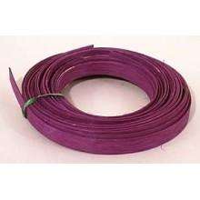 """.25 lb. - 5/8"""" Flat Violet DYED--1/4 lb. bundle"""