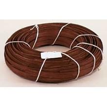 "1 lb. - 1/2"" Flat Walnut DYED--1 lb. bundle"