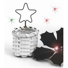 Special Quantity -- Star Ornament Basket - Supplies for 12 Baskets