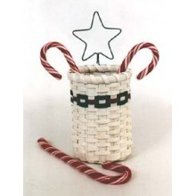 Special Quantity -- Candy Cane Basket - Supplies for 12 Baskets