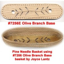 Pine Needle BASE 2 inch x 8 inch Olive Branch Design
