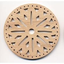 Pine Needle BASE 3.5 inch Snowflake Design