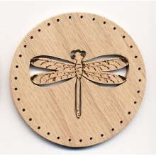 Pine Needle BASE 3.5 inch Dragonfly Design