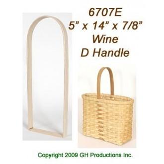 "WINE D Handle 5"" x 14"" x 7/8"""