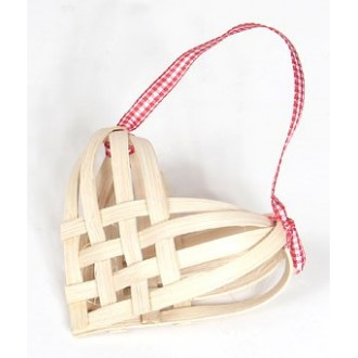 A Woven Heart Basket -- Pattern Sheet