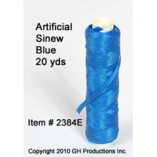Artificial Sinew Blue - 20 yard spool
