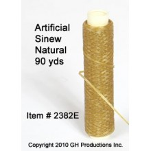 Artificial Sinew Natural Color - 90 yard spool LIMITED SUPPLY