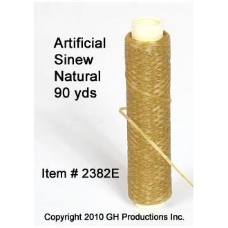 Artificial Sinew Natural Color - 90 yard spool