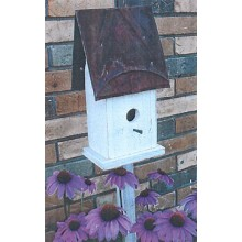 Flower Bed Birdhouse - Woodworking Pattern