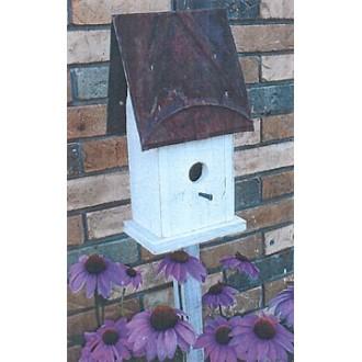 Flower Bed Birdhouse - Woodworking Pattern