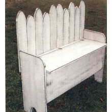 Storage Bench - Woodworking Pattern