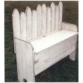 Storage Bench - Woodworking Pattern