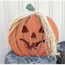 Large Jack-O-Lantern - Woodworking Pattern