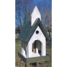 Church Bird Feeder - Woodworking Pattern