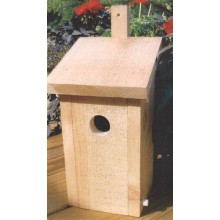 Bluebird Box Woodworking Pattern