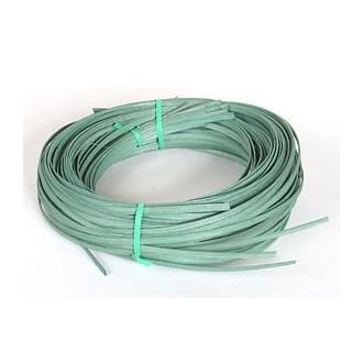".25 lb. - 11/64"" Flat Moss Green DYED--1/4 lb. bundle"