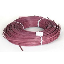"1 lb. - 11/64"" Flat Burgundy DYED--1 lb. bundle"