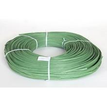 "1 lb. - 11/64"" Flat Green DYED--1 lb. bundle"