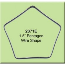1 1/2 inch Pentagon Wire