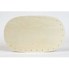 Oblong Drilled Base 6 inch x 10 inch