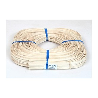3mm Flat Oval Reed -- 1/2 lb. coil