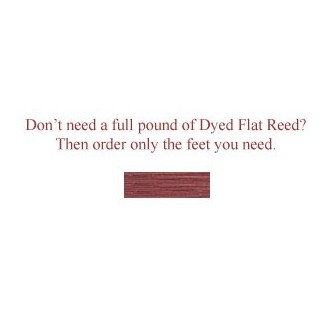 """per foot - DYED 1/2"""" Flat Dusty Rose--Sold by the foot"""