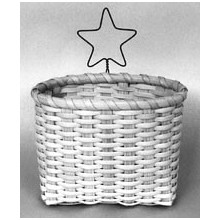 Napkin Basket Kit with Star Hanger