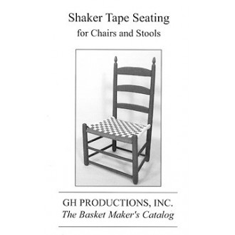 Shaker Tape Seating for Chairs and Stools - Booklet