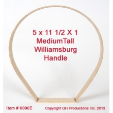 "Out of Stock - TALL Medium Williamsburg 5"" x 11.5"" x 1 1/8"""