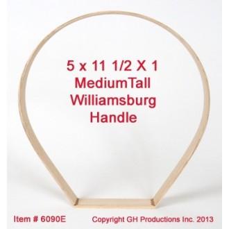 """TALL Medium Williamsburg 5"""" x 11.5"""" x 1 1/8"""""""