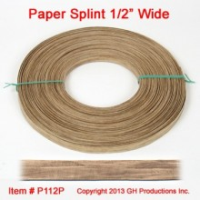 Paper Splint 1/2 inch wide - 1 pound coil