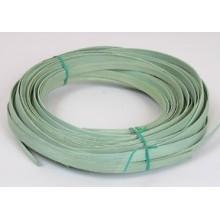 """1/2 lb. - 1/2"""" Flat Reed Sage Green DYED -- 1/2 lb. bundle"""