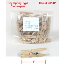 TINY Clothespins Spring-type
