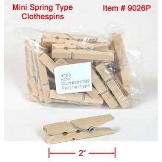 MINI Wooden Clothespins