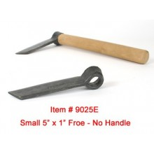 "Small (5"") hand forged Froe -- Handle not included"