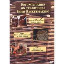 DVD1 - Square Willow Picnic Basket made by Norbert Platz - Traditional Irish Basketmaking Documentary