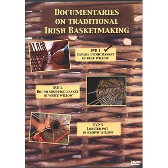 DVD1 - Square Willow Picnic Basket made by Norbert Platz - Traditional Irish Basketmaking Documentary